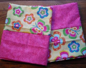 Fun Flowers Pillowcases