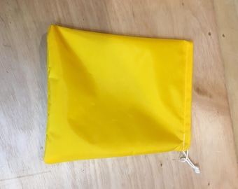"""Little Bitty Ditty Bag - Yellow, Blue or Red 9"""" x 11"""""""