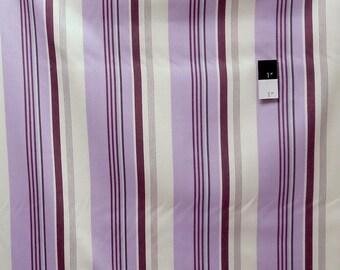 Annette Tatum SAAT005 Classica Sateen Rain Plum Cotton HOME DECOR Fabric 1 Yard