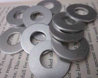 10 Aluminum 1.25 Inch Washers