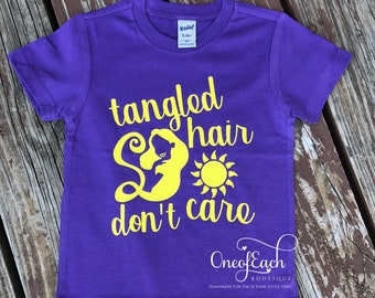 Tangled Hair Don't Care Tee