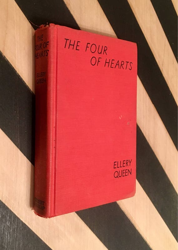 The Four of Hearts by Ellery Queen (1938) hardcover book