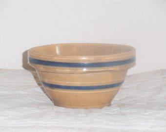 Antique Vintage Yellowware Bowl