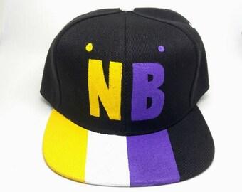 Nonbinary NB Pride Gender Flag Snapback Hat LGBTQA+ Nonbinary Flag Nonbinary Hat Transgender Hat Pride Parade Pride Festival Androgynous