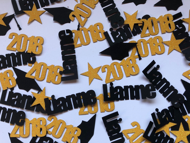 Graduation Confetti Graduation Decorations Graduation Party