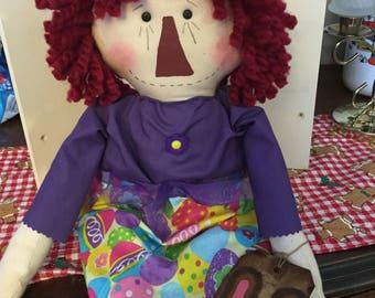 Primitive Annie |Easter | Egg|Purple