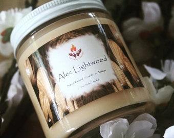 Shadowhunter inspired candles