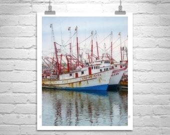 Puerto Penasco Picture, Rocky Point Mexico Photograph, Sea of Cortez Art, Fishing Boat Art, Artwork Gift, Nautical Art, Maritime Picture