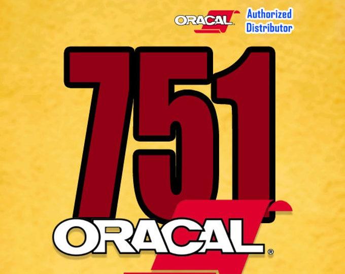"ORACAL 751 / 12"" x 24""* Sheet / Black & White"