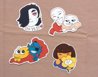 Stickers - Undertale