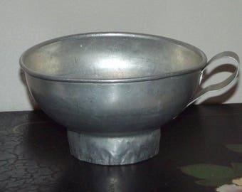 Vintage Aluminum Canning Funnel
