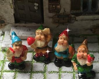Fairy garden, micro mini gnome, tiny gnome, mini gnome, micro gnome, fairie garden, mini gnome, miniature garden gnome
