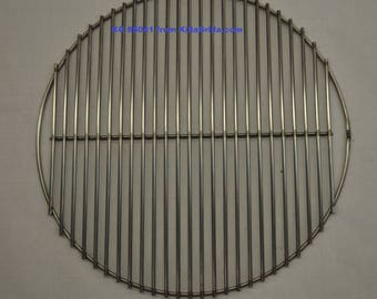 """20.63"""" Round BBQ Stainless Lower Cooking Grill Grate- KG 85041 Weber replacement"""
