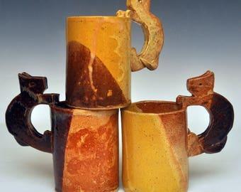 Handmade Ceramic Kitty Cup