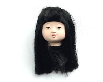 Japanese Doll Head - Ichimatsu Doll Female Doll Head (D15-20)