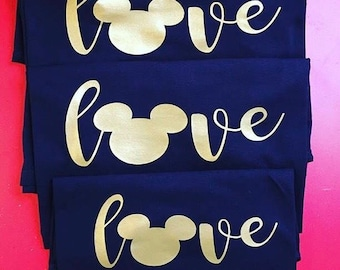 Love Disney Tee - Toddler, Youth, Adult