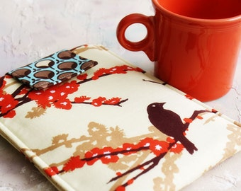 Kindle Sleeve, Nook Cover, Ereader Case, Gadget Covers, in  Little Brown Bird Gadget Cases and Covers, Ereader Accessories