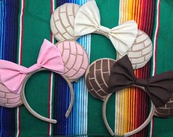 Conchas mickey ears!