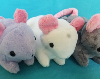Rat Plushie - CHOOSE YOUR COLOR Made to order