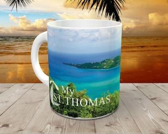 St. Thomas Caribbean Beach Coffee Mug