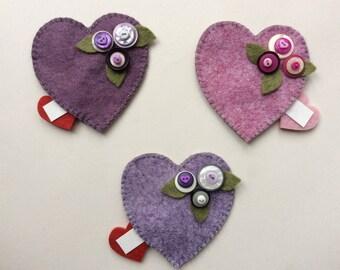love heart - send a message inside
