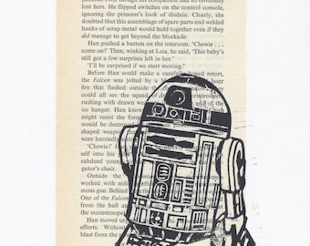 R2D2 + Book Page