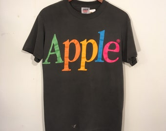 Vintage 90's Apple Computer T Shirt Medium