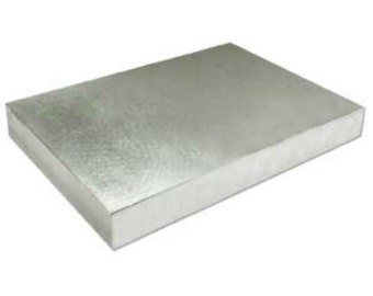 Extra Large Steel Bench Block - Size is 6 x 4 x .5 inch - Constructed of Tool Steel and Polished - SGBB64