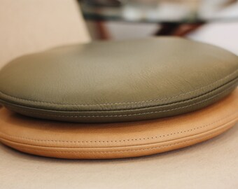 C-S Round Leather Cushion