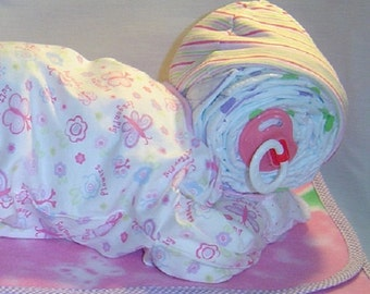 Sleeping Diaper Baby Layette