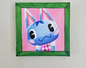 PICK YOUR VILLAGER 6x6 Painting Wall Canvas Animal Crossing Villager Pic