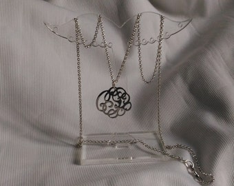 925 sterling silver necklace with steel pendant