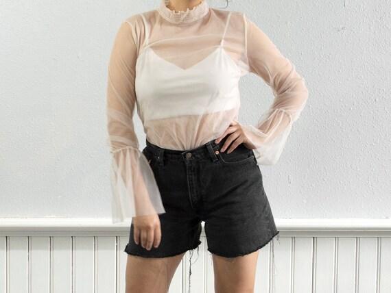 "80s Raw Hem Levi's Shorts / 29.5"" Waist by Etsy"