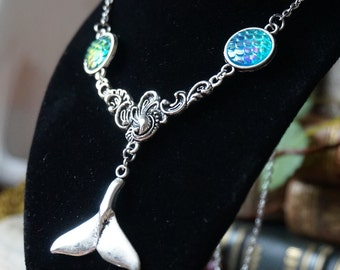 "Necklace ""Whale Tail"""