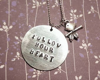 Follow Your Heart - Necklace