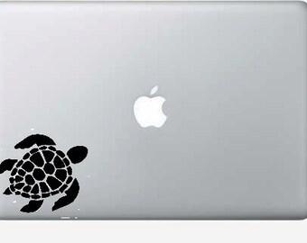 sea turtle macbook, computer, car vinyl decal