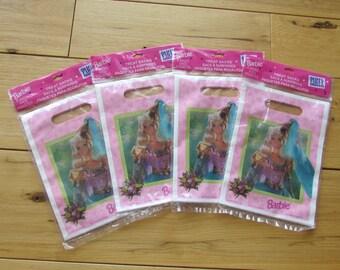 Barbie 8 Treat Sacks/Bags 1997 Mattel Birthday Party