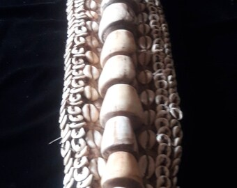 Asmat Tribe Shell Necklace Wamena Papua New Guinea Primitive Art Traditional