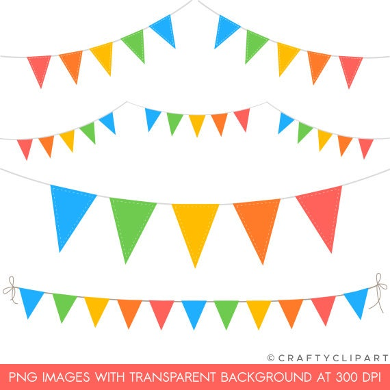 bunting clipart carnival circus flags digital clipart instant rh etsystudio com bunting clipart png bunting clipart free download