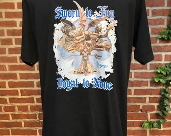 Vintage Robt. Williams Robert 1974 t shirt, sworn to fun loyal to none. Mens size M / small