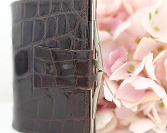 Wallet Leather purse Leather wallet Audrey Hepburn Style vintage