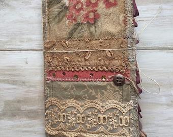 Travelers Notebook Bohemian Handmade Memory Keeping Journal - Standard
