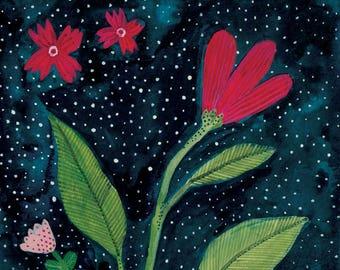 Art Print 5x7 Flowers
