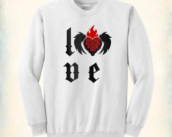 Love Goth - sweatshirt crewneck