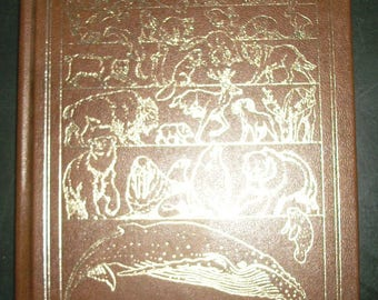 Vintage Leatherbound National Geographic Wild Animals of North America
