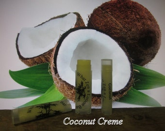 Coconut Creme Lip Balm- 31 Luscious Flavors - 100% Natural