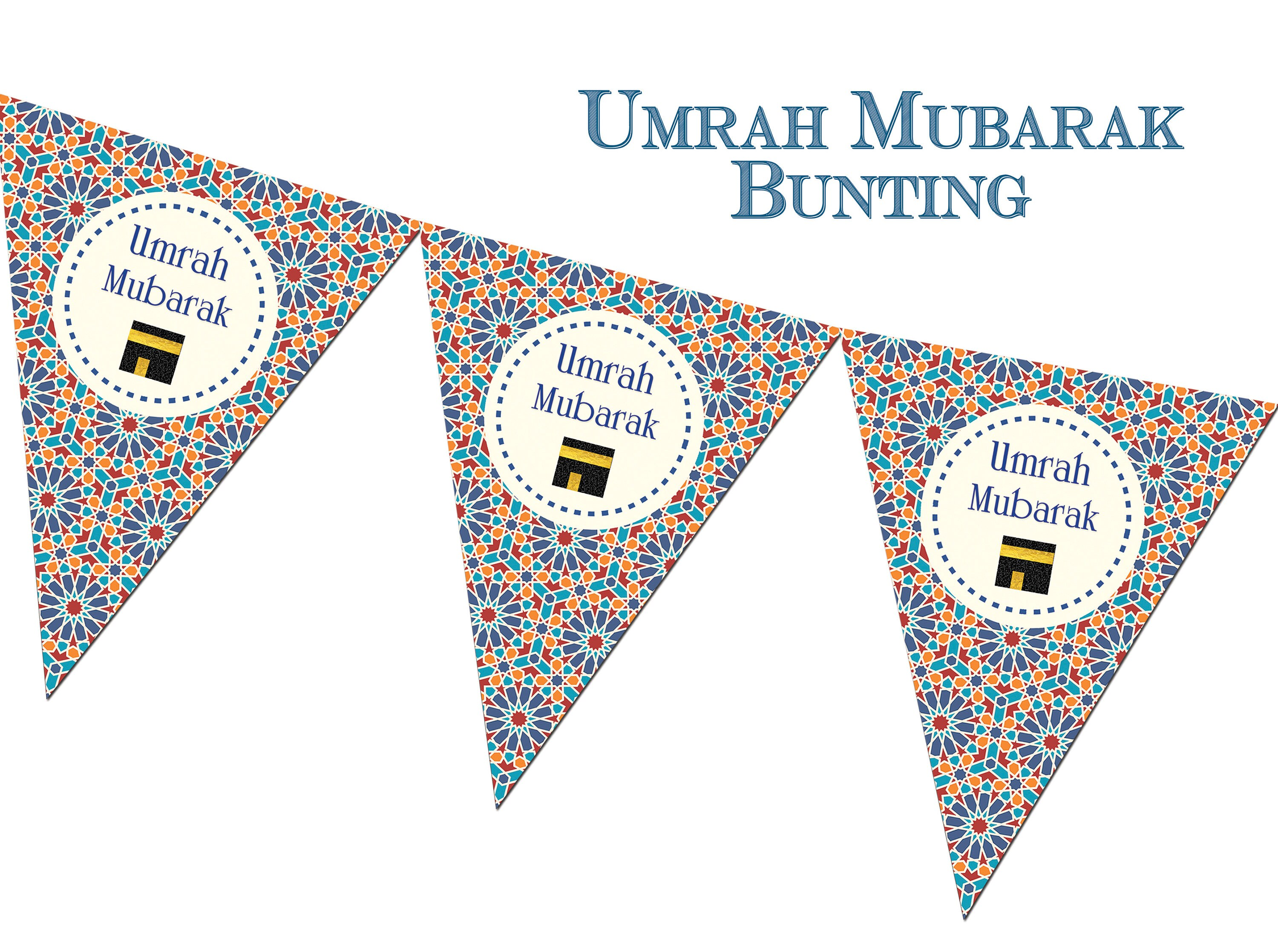 listing il bunting umrah zellige zoom mubarak fullxfull decorations decor en banners decorative