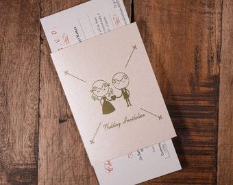 Chinese Invitation, Chinese Wedding Invitation, Chinese Invitations, Chinese Wedding Invitations, Blush Passport Wedding Invitation