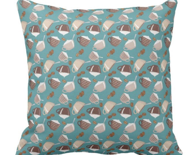 Throw Pillow Coffee First