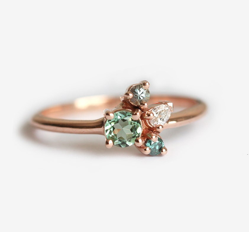 tourmaline engagement rose pink ring img audry diamond rings